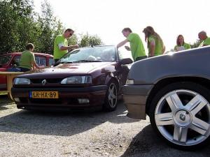 Renault club Hunebedweekend Drenthe september 2010