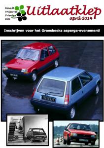 Renault Uitlaatklep 04-2014