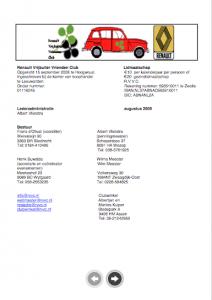 uitlaatklep renault club 2009-08